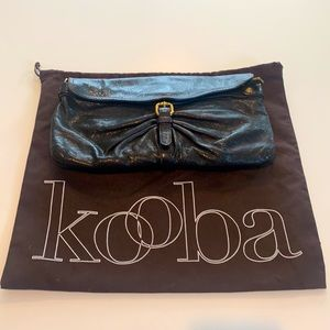 Kooba Brown Leather Convertible Bag